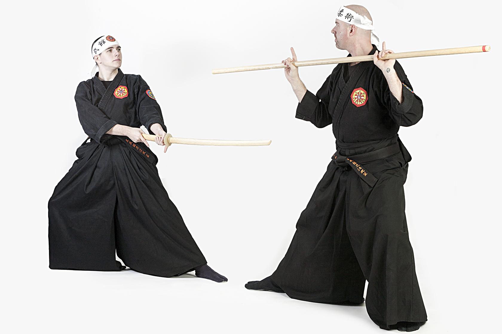 Genbukan - Armas tradicionales